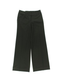 Calvin Klein -Size 8 - Black Wide Leg Stretch Dress Pants