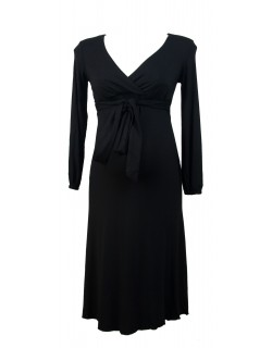 Grace maternity dress with nursing feature