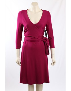 Ralph Lauren -Size M- Faux Wrap Pink Dress
