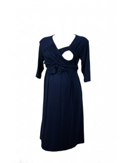 Isabella maternity and nursing dress