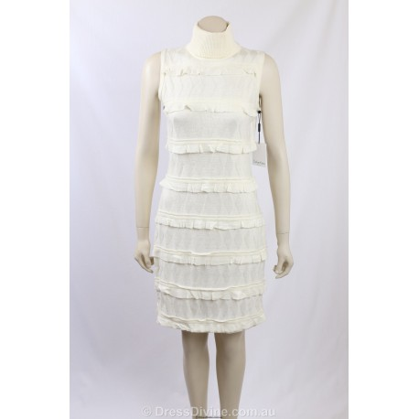 df6c503aacb Calvin Klein Ivory Sweaterdress - Size 8