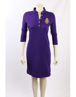 Ralph Lauren -Size S- Purple Polo Dress