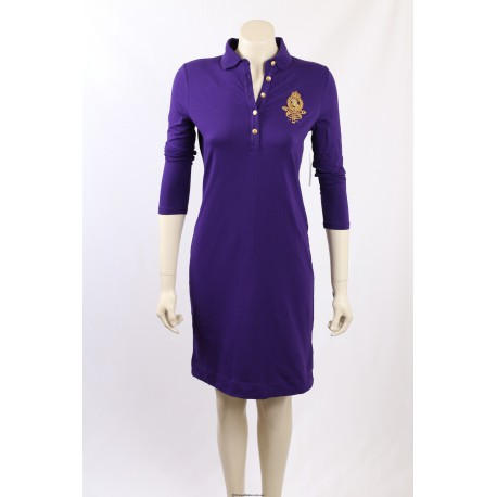 Ralph Lauren Purple Polo Dress - Size S