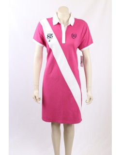 Tommy Hilfiger Pink Polo Dress - Size 18