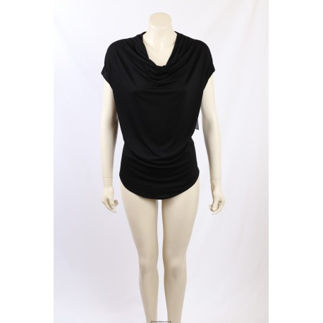 Karen Kane black short sleeves pullover top - Size M