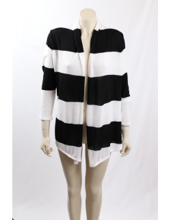 INC -Size L- Black and White Cardigan