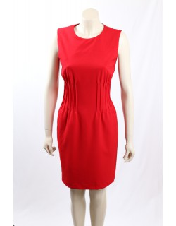 Calvin Klein -Size 10- Red Work Dress