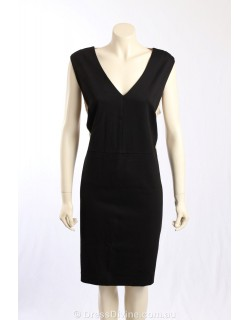 DKNY wear to work dress /c lace trim -size 22W