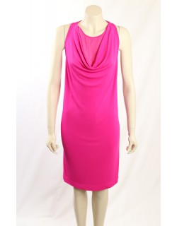 DKNY Pink Sleeveless Cocktail Dress