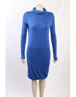 BCBG Max Azria Silk Cotton Blend Sweater Dress - Size S
