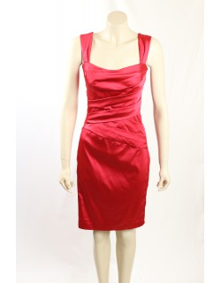 Ralph Lauren -Size 14- Red Cocktail Dress