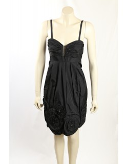 BCBG Max Azria - Size 8- Black Occasion Dress