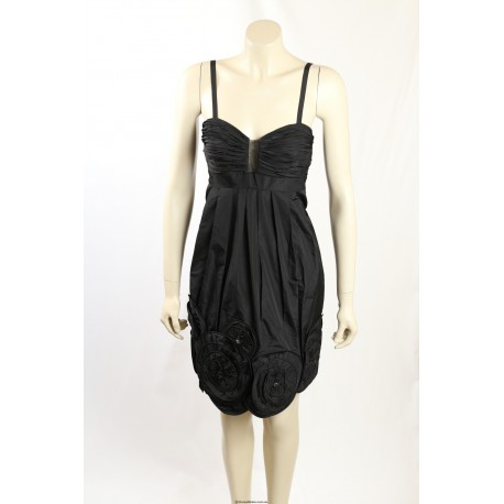 BCBG Max Azria - Size 8- Black Cocktail Dress