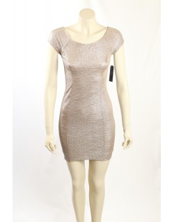 Guess - Size 4- Metallic Gold Party Dress