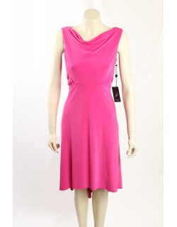 Adrianna Papell- Size 10- Fuschia Formal Cocktail Dress