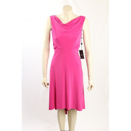 Adrianna Papell- Size 8- Fuschia Cocktail Dress