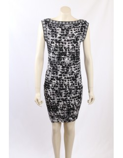 BCBG Max Azria Printed Cocktail Dress - Size XS