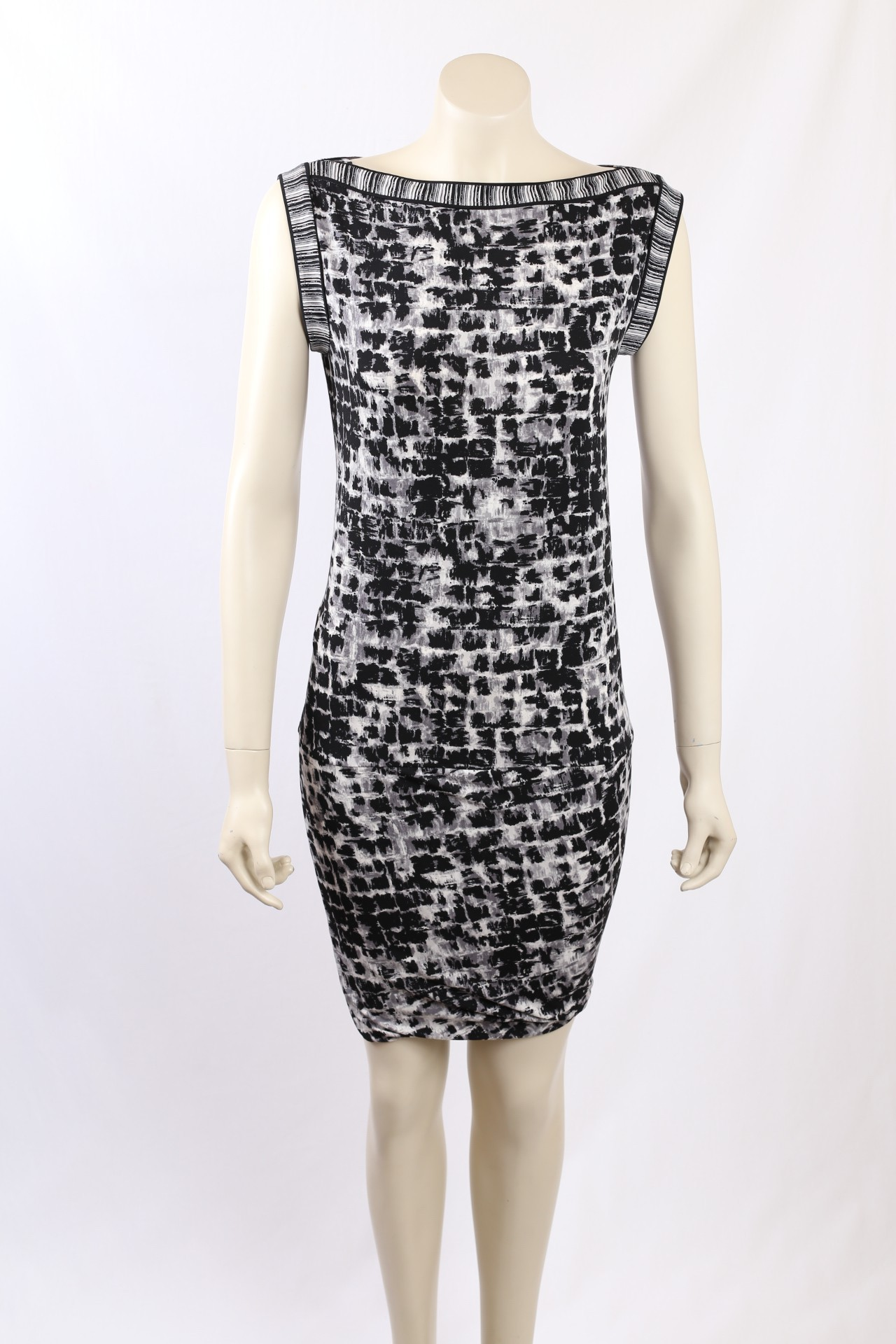 Bcbg Max Azria Printed Cocktail Dress Size Xs