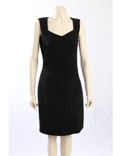 Calvin Klein -Size 24W- Black Cocktail Dress