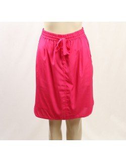 DKNY Pink Silk Pleated Pencil Skirt