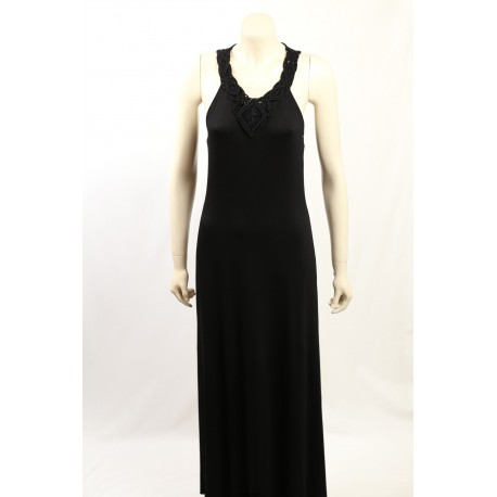 Ralph Lauren -Size S- Black Maxi Dress