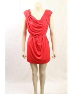 Jessica Simpson Red Sleeveless Party Dress