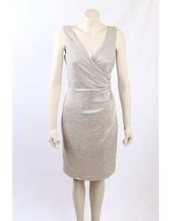 Ralph Lauren Gold Cocktail Dress - Size 10/12
