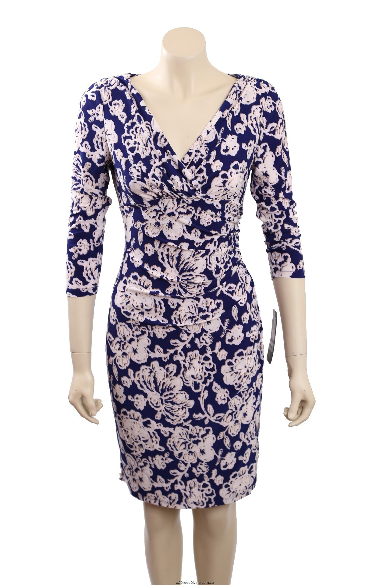 ralph lauren size 10 purple floral dress