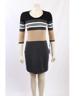 Calvin Klein - Size XL/18 - Colour Block Sweater Dress