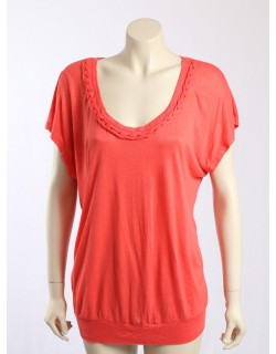 American Rag -Size XL/18- Orange Casual Top