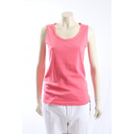 Ralph Lauren -Size M- Pink Stretch Cotton Top