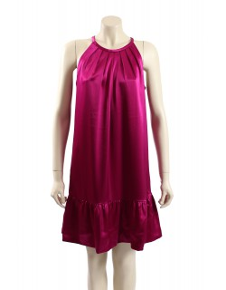 DKNY -SIZE M- Pink Satin Formal Cocktail Dress