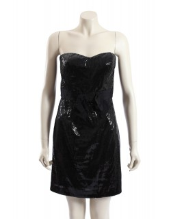 Miss Sixty -Size 10- Sequined Strapless Party Cocktail Dress