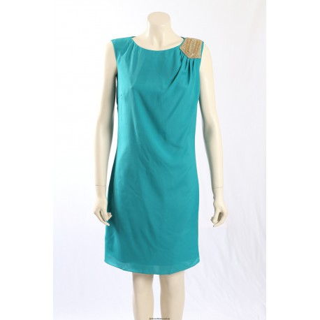 Ellen Tracy -Size 12- lagoon coloured cocktail dress