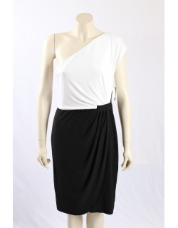 Donna Morgan -Size 16- Black White Cocktail Dress